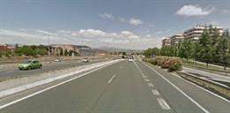 Ubicación aproximada donde se prevé instalar la futura Pasarela de Los Lirios.