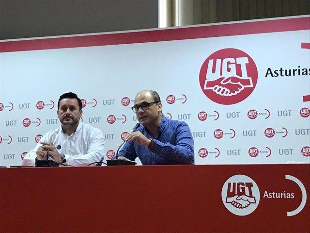 Javier Fernández Lanero y Luis Antonio Villazón Fernández.