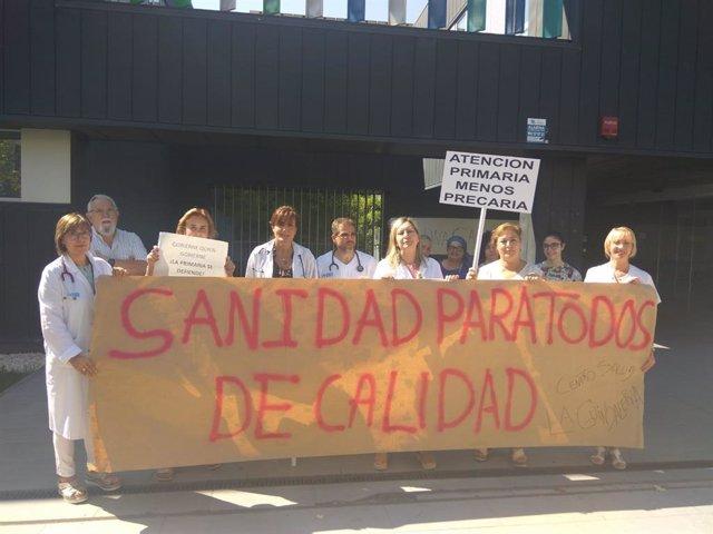 Concentración para una atención primaria de calidad en el C.S. La Guindalera