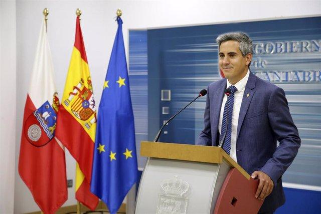 Pablo Zuloaga, vicepresidente de Cantabria
