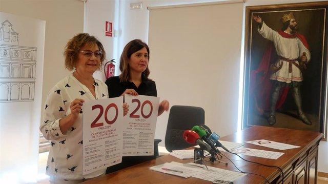 La concejal de Acción y Promoción Cultural, Evelia Fernández, presenta las XX Jornadas Europeas de la Cultura Judía de León.