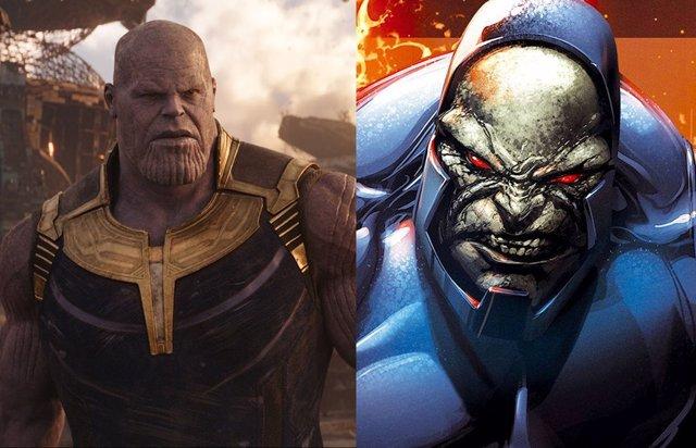 Thanos y Darkseid, dos de los grandes villanos de Marvel y DC Cómics