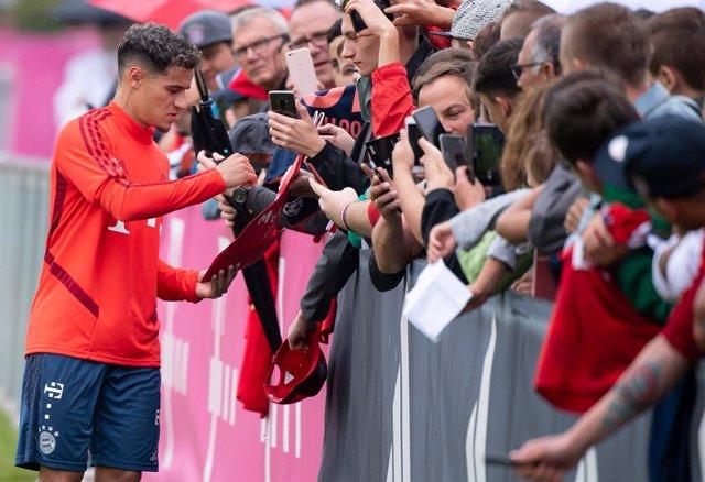 """Fútbol.- Lewandowski: """"Coutinho puede ser la clave en la Champions"""""""