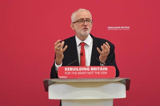Jeremy Corbyn, líder laborista