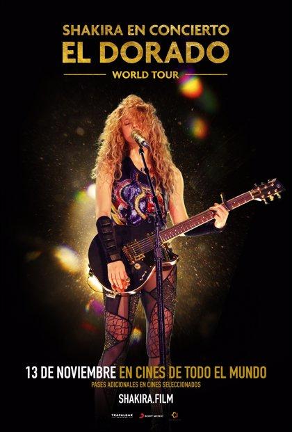 'Shakira in Concert', en cines de todo el mundo el 13 de noviembre