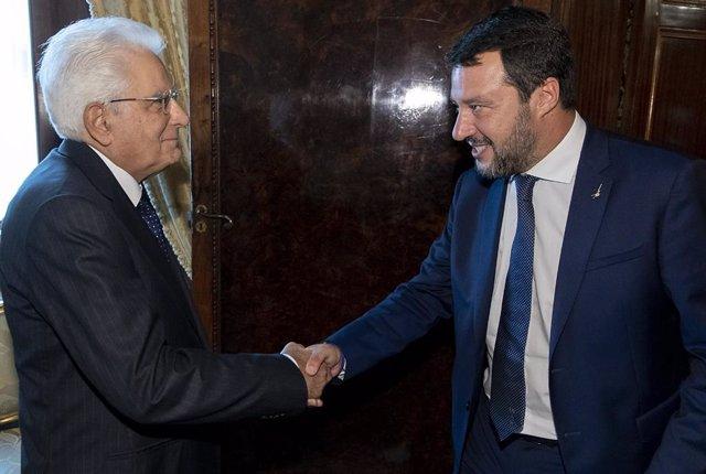 "Italia.- Salvini traslada Mattarella su ""desconcierto"" por la ""guerra de sillone"