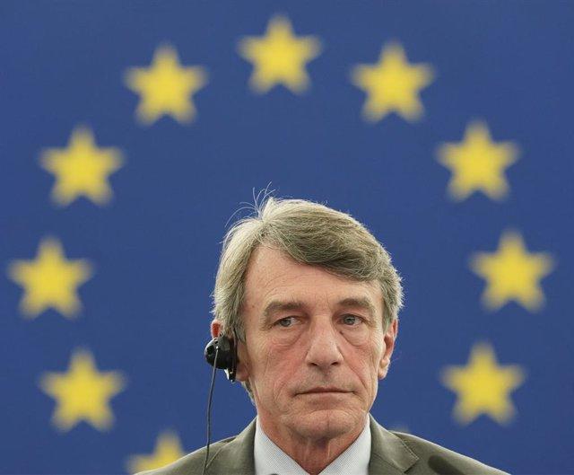 Brexit.- El presidente de la Eurocámara critica la suspensión del Parlamento bri