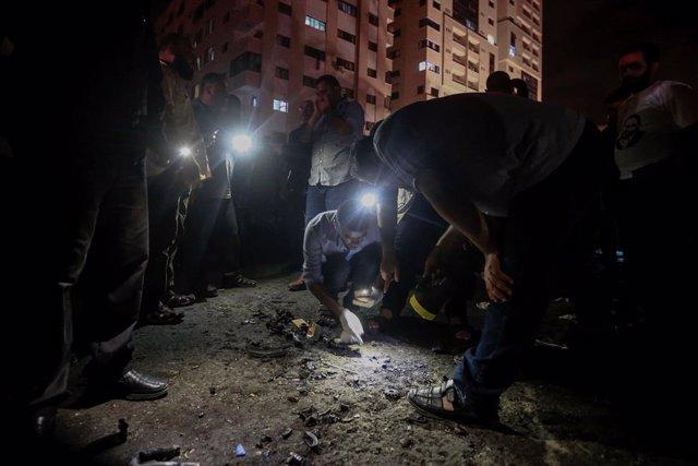 O.Próximo.- Las autoridades de Gaza atribuyen a terroristas suicidas las explosi