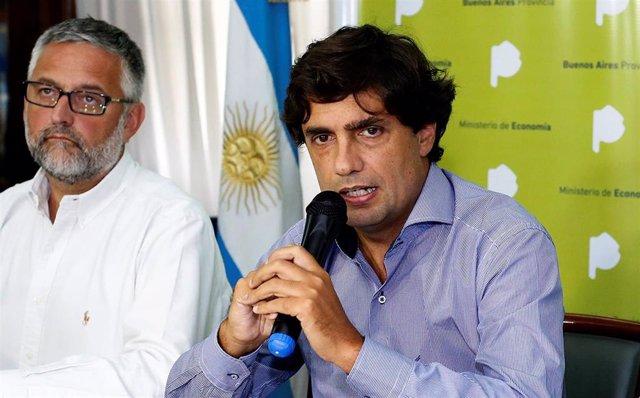 El minsitro de Hacienda de Argentina, Hernán Lacunza