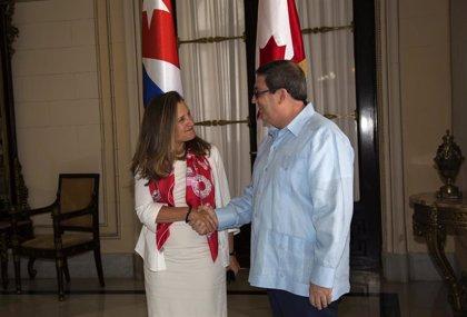 Cuba.- Cuba pide a Canadá que le ayude a poner fin a las sanciones estadounidenses contra Venezuela