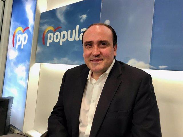 El secretario general del PP, Daniel Serrano.