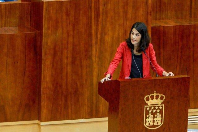 Imagen de archivo de la portavoz de Unidas Podemos Izquierda Unida Madrid en Pie, Isa Serra.