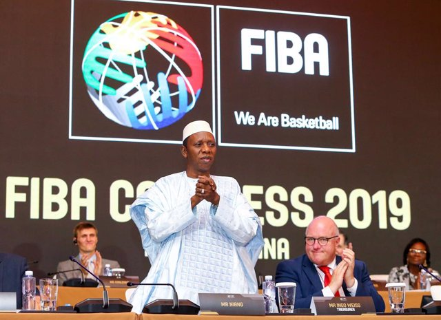Baloncesto.- La FIBA elige a Hamane Niang como su presidente para los próximos c