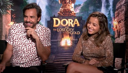 """Isabela Moner protagoniza Dora y la ciudad perdida: """"Dora es casi como un superhéroe"""""""