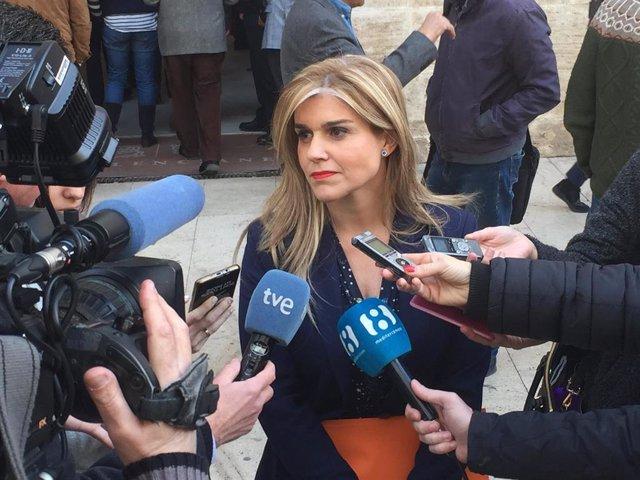 La secretaria general del Partido Popular de la Comunitat Valenciana, Eva Ortiz,