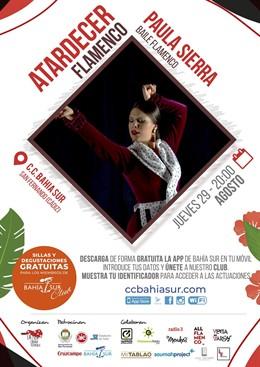 Paula Sierra cierra los atardeceres flamencos de Bahía Sur en la VI edición de 'La Isla Ciudad Flamenca'