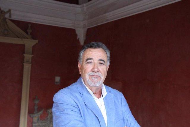 Jesús Maeso, en la sede Antonio Machado de Baeza (Jaén) de la UNIA
