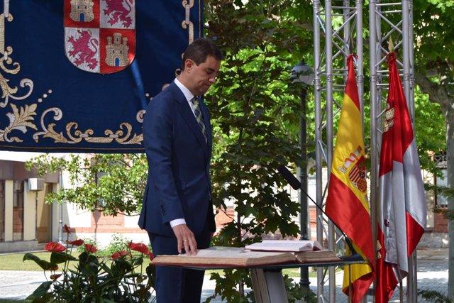 Toma de posesión del consejero de la Presidencia, Ángel Ibáñez.