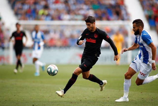 """Fútbol.- Morata sufre un esguince de rodilla de """"grado moderado"""""""