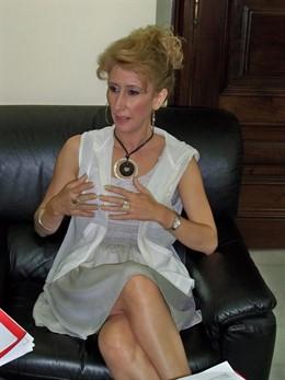 Maribel Montaño, una foto de archivo.