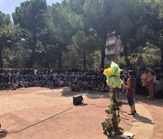 Més de 700 nens han participat en els campaments urbans Baobab de Barcelona a l'agost (AJUNTAMENT DE BARCELONA)