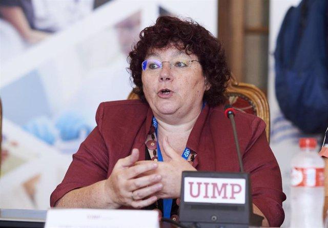 La presidenta de la Sociedad Española de Inmunología, África González
