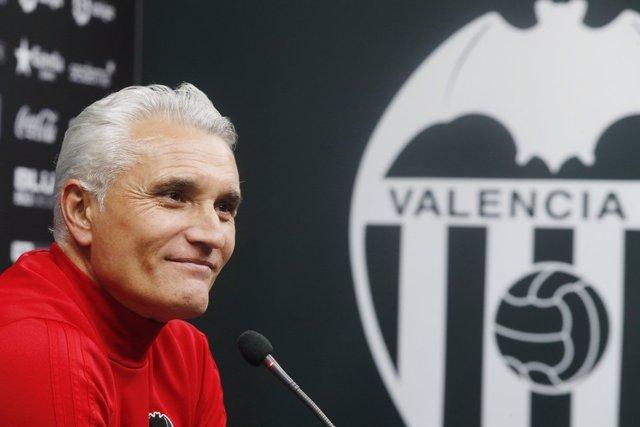 """Fútbol/Liga Campeones.- Uría (Valencia): """"Podemos decir que no estamos tristes c"""