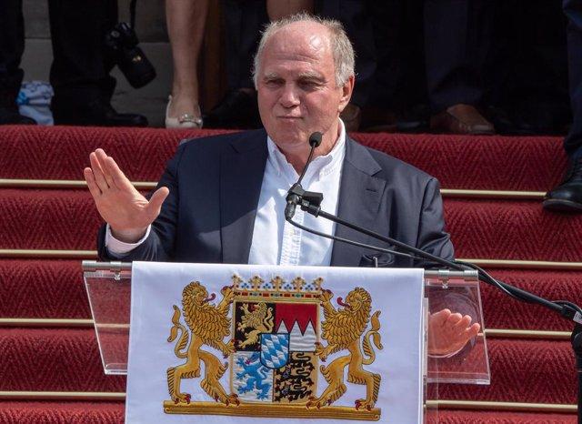 Fútbol.- Hoeness renunciará como presidente del Bayern Múnich a finales de este