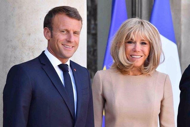 Brasil/Francia.- La primera dama francesa agradece en portugués el apoyo frente