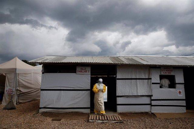 Centro de tratamiento frente al ébola en Beni
