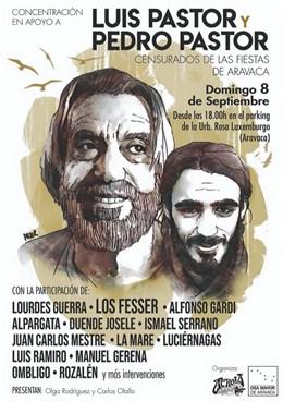 Rozalén, Ismael Serrano y Los Fesser arroparán a los Pastor en la concentración por su cancelación en Aravaca