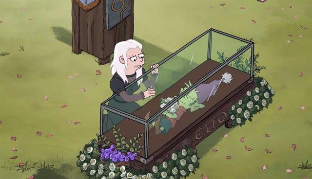 Imagen de (Des)encanto, la serie de Matt Groening para Netflix