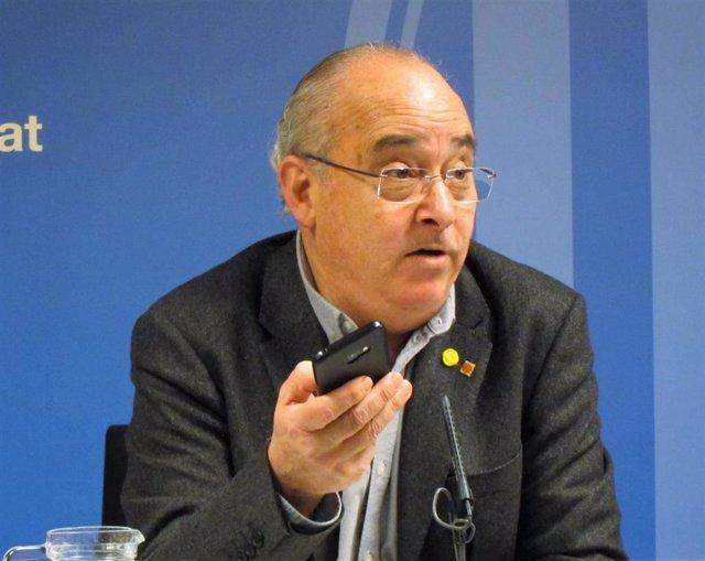 El conseller Josep Bargalló (Archivo)