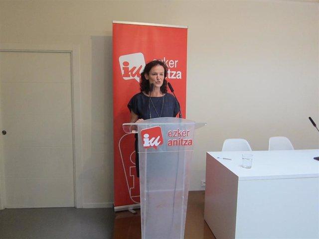 Coordinadora general de Ezker Anitza, Isabel Salud