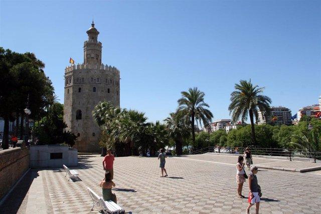 Torre del Oro en Sevilla, en una imagen de archivo