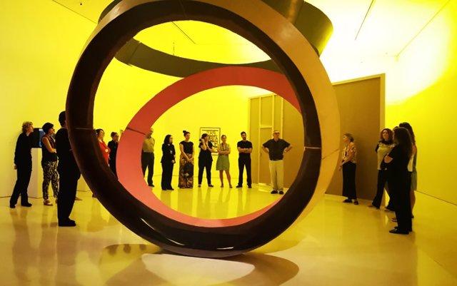 Exposición de Bruce Nauman en el Museo Picasso Málaga.