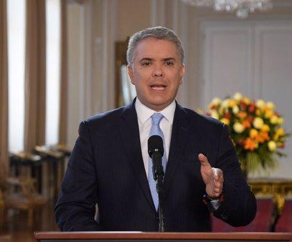 """VÍDEO: Colombia.- Iván Duque avisa de que Colombia """"no acepta amenazas"""" y ofrece recompensas millonarias"""