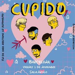 Actuació Cupido a Barcelona