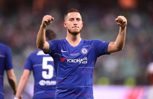 Fútbol.- Eden Hazard, elegido Jugador de la Temporada en la Europa League 2018/1
