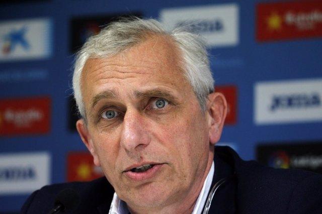 """Fútbol/Liga Europa.- García Pont, vicepresidente del Espanyol: """"Ser primeros de"""
