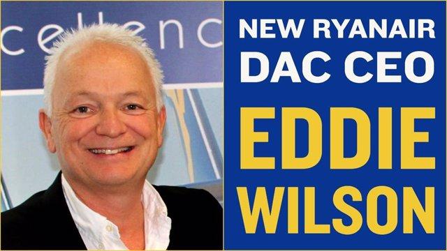 UE.- Eddie Wilson, nuevo consejero delegado de Ryanair en sustitución de O'Leary