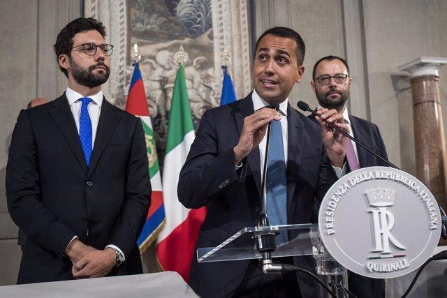 """Italia.- Di Maio amenaza con romper los contactos con el PD si no acepta """"el pro"""