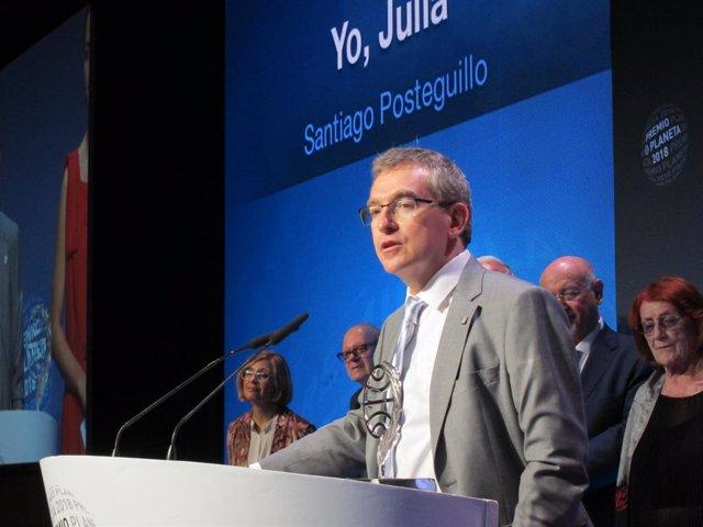 Santiago Posteguillo, Premi Planeta 2018