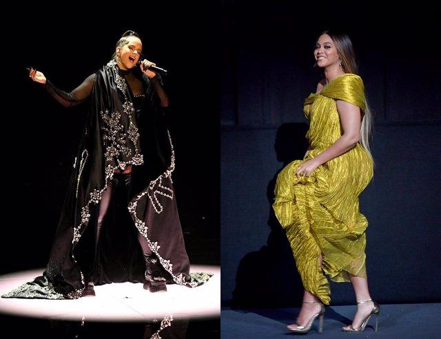 Rosalía y Beyoncé