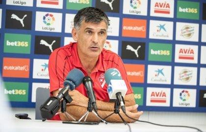 """Mendilibar: """"El Atleti parece que juega rácano, pero para nada"""""""