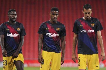 Junior, baja de última hora en un Barça que acude a El Sadar sin Todibo ni Aleñá