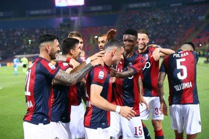 Un gol de Roberto Soriano en el 90' da al Bolonia su primera victoria en la Serie A