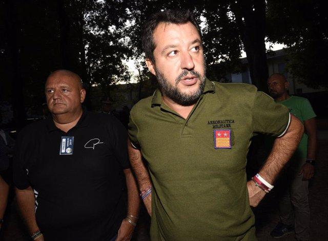 """Italia.- Salvini critica el """"espectáculo"""" del M5S y el PD y reclama nuevas elecc"""