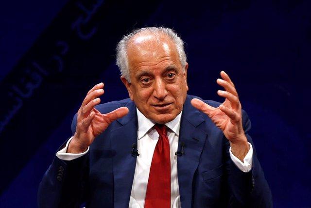 El representante de EEUU en Afganistán, Zalmay Jalilzad