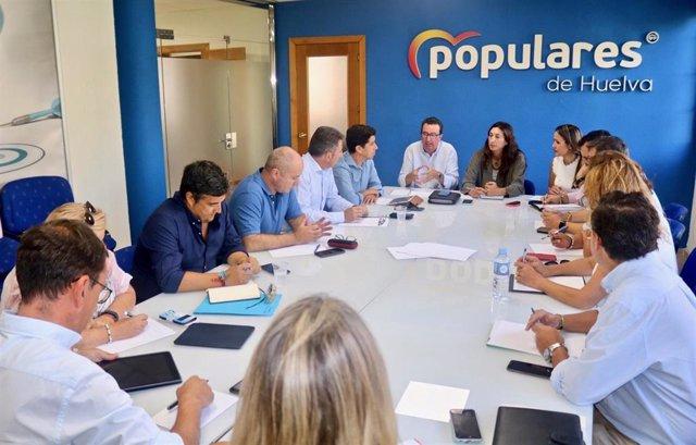 Los populares onubenses preparan el arranque del nuevo curso político